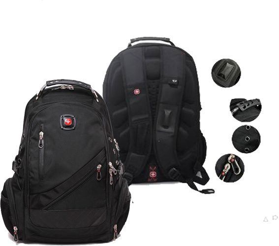 Swissgear 8815 Backpack, Black, price, review and buy in Dubai ...