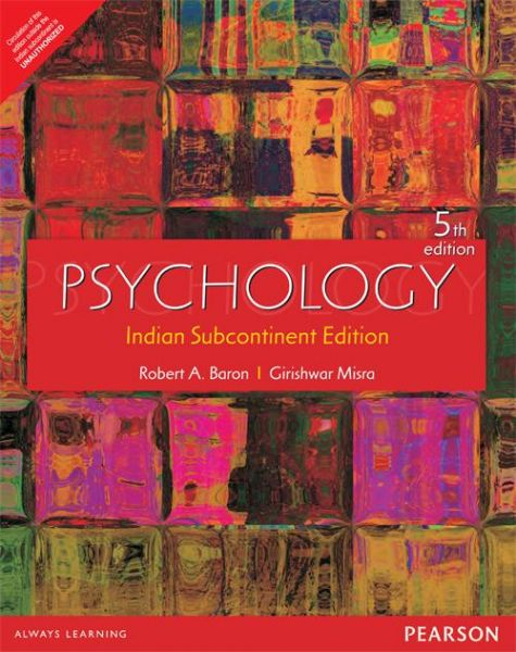 Psychology by robert a. Baron (2000, hardcover / mixed media.