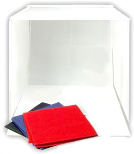 Portable 50 x 50 x 50 cm Camera Photo Studio Box Cube Tent Kit