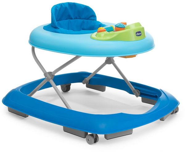 Chicco rainbow baby walker ch79416 80 blue price for Adaptateur chaise pour bb