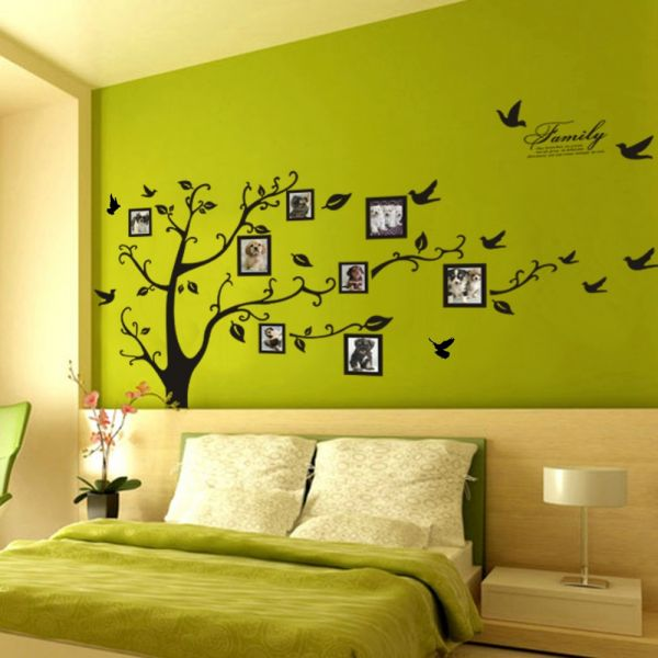 Photo Frame Tree Wall Art Stickers Vinyl Decals Home Decor Sticker Home  Decor Removable