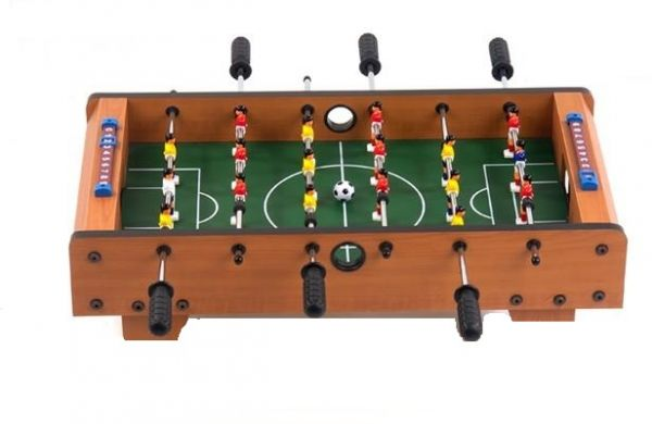 foosball table plans amazoncom tabletop foosball table. Black Bedroom Furniture Sets. Home Design Ideas