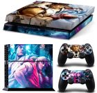 Street Fighters Vinyl Skin Sticker Decal for Playstation 4 nd 2 controlers [SFC-46] (Skin & Decal)