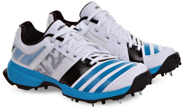 competitive price a6f8c f81f8 Adidas F32226 SL22 FS II Spike Cricket Shoes for Men - 7 UK, White  Blue