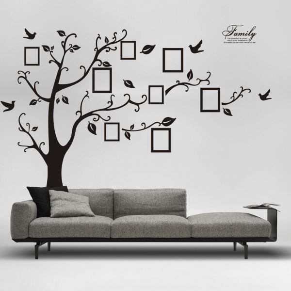 Wall Stickers Home Decor Family Picture Photo Frame Tree Wall Art - Wall decals dubai