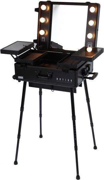 Maylan Makeup Train Stand Case With Pro Studio Artist