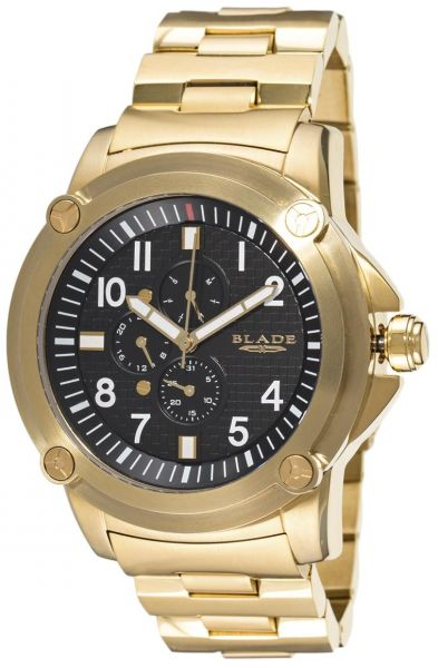 blade s analog 22k gold plated stainless steel