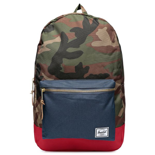 1bac8fd6450 Herschel 10005-00041-OS Settlement Woodland Camo Backpack for Unisex ...