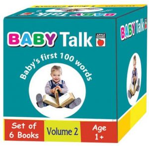 Baby Talk Baby's First 100 Words Set of 6 Books Volume 2 - Paperback