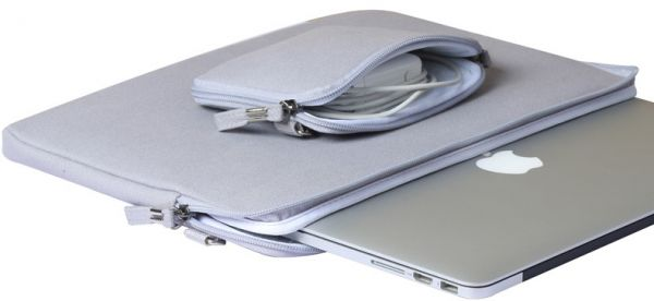 innovative design c38c1 98de2 13‑inch MacBook Air Soft Case Bag Cover Sleeve Pouch For Apple MacBook Air  13 inch Gray