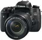 Canon EOS 760D DSLR Camera with 18-135mm Lens Kit - 24.2MP, Black (Digital Camera)