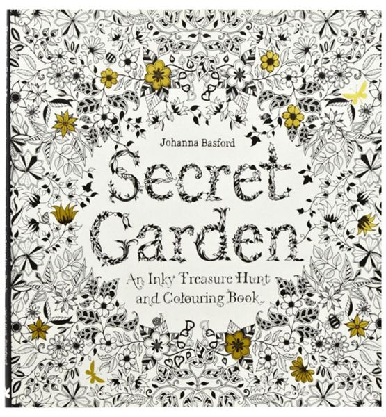 Thames Hudson Secret Garden An Inky Treasure Hunt And Colouring Book