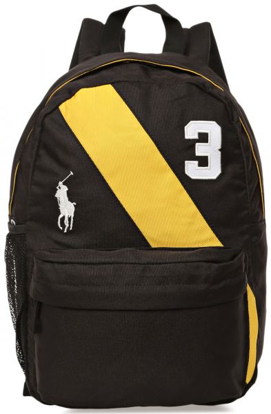 Polo Ralph Lauren 950080 Banner Stripe II Backpack for Kids - Black ... 660deff83a34a