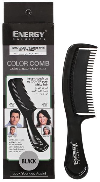 Souq | Energy Cosmetics 3431333 Color Comb, Black | UAE