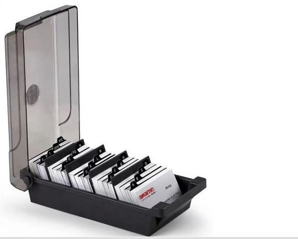 Business Card Holder Rolodex With Alphabet 600cards Price Review