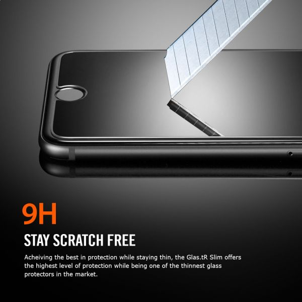 best service 1159b 1feb4 Spigen iPhone 6S / 6 Glas.tR Slim 3D Touch Tempered Glass Screen Protector  - World Strongest