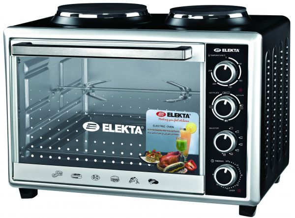 Elekta 43l Electrical Oven With Rotisserie And 2 Hot Plate