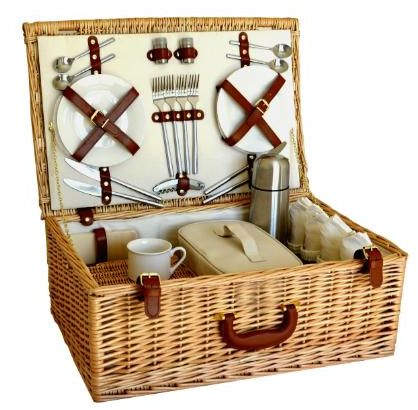 Henley 4 Person Picnic Basket