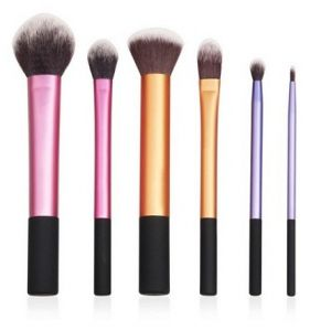 6 Peices Professional Cosmetic Makeup Brushes Foundation Buffer Brush f576b4bd06ee4