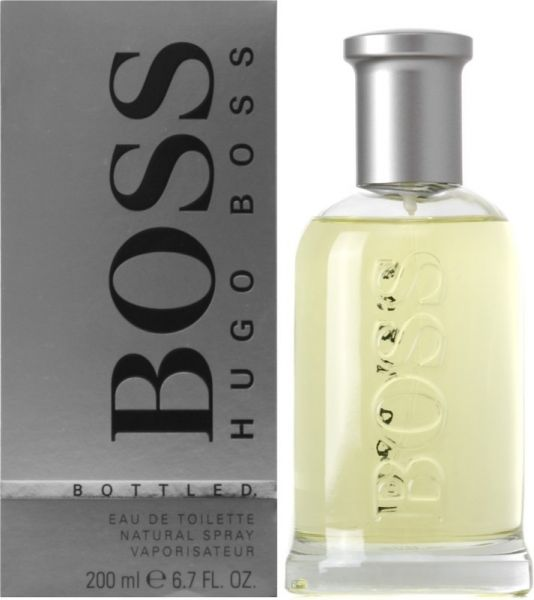 boss bottled by hugo boss for men eau de toilette 200ml. Black Bedroom Furniture Sets. Home Design Ideas