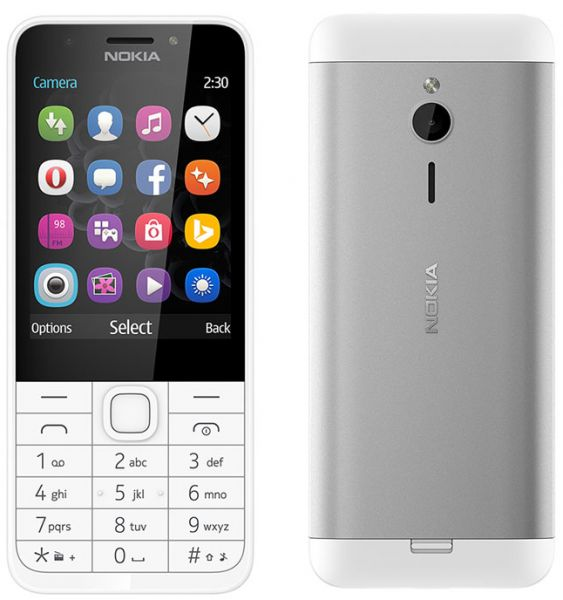 NOKIA 230 DUAL SIM WITH FRONT CAMERA