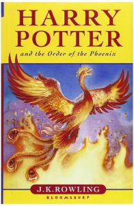 Harry Potter and the Order of the Phoenix by J.K. Rowling - Hardcover