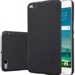 Nillkin HTC ONE X9 Frosted Hard Case Cover With Screen Protector -Black