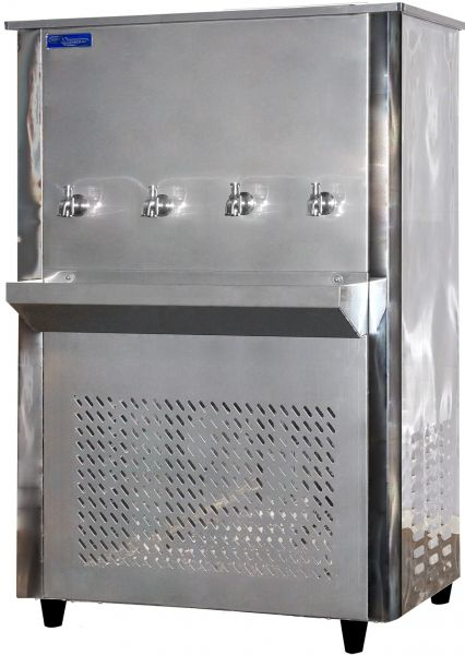 Super General 4 Tap Water Cooler Silver Sg Cl 95t4