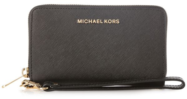 53fdc5eabb649f Buy mk black wristlet > OFF64% Discounted
