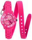 Ice Watch Kids Pink Dial Silicone Band Watch - TW.PK.M.S.12 (Watch)