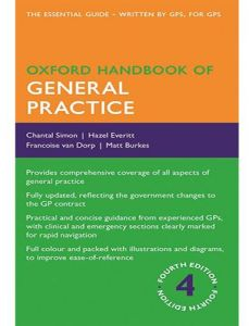 Oxford Handbook of General Practice by Chantal Simon - Paperback