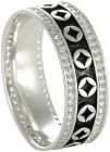 Women's Silver Dibla Ring - Size 8 US (Ring)