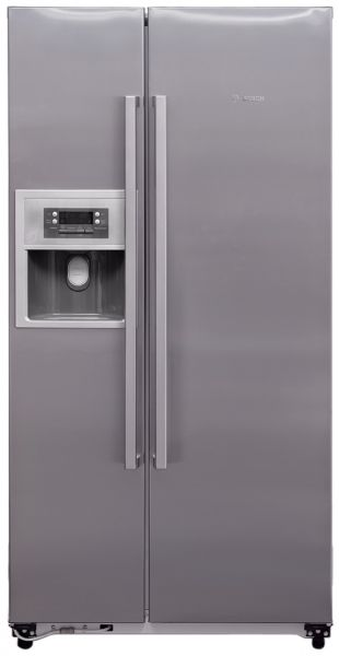 bosch 604 liters side by side refrigerator kan58a70ne. Black Bedroom Furniture Sets. Home Design Ideas