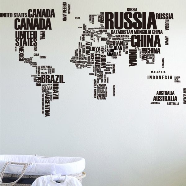 souq english alphabet world map art diy wall sticker decal mural room decor uae