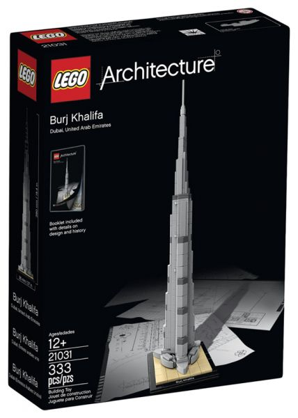lego 21031 architecture burj khalifa price review and buy in dubai abu dhabi and rest of. Black Bedroom Furniture Sets. Home Design Ideas