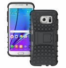 Samsung Galaxy S7 Edge HDS Series Shockproof Case Cover -BLACK (Mobile Phone Accessories)