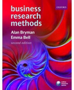 Business Research Methods 2nd Edition by Alan Bryman - Paperback