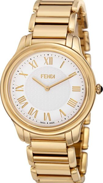d388bfe080bd Fendi Classico Men s White Dial Stainless Steel Band Watch ...