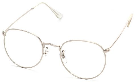 Full metal frame retro round flat mirror frame glasses C3 | Souq - UAE