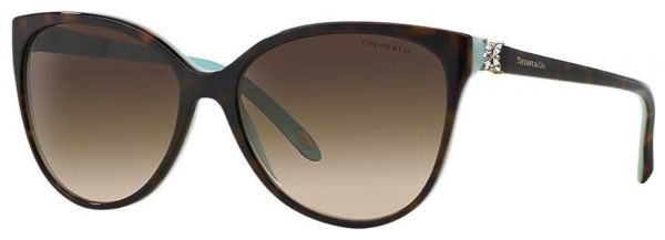 759af69feb3 TIFFANY TORTOISE TF-4089B-8143B CATEYE WOMEN SUNGLASSES