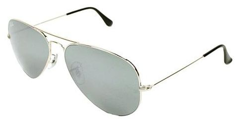 ray ban aviator sunglasses price  Ray Ban Aviator Mirror Silver Unisex Sunglasses - RB3025-W3277-58 ...