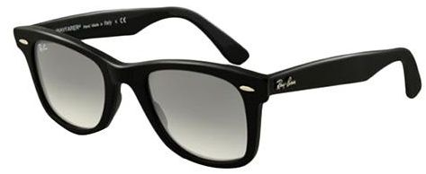 black ray ban wayfarer polarized  Ray Ban Wayfarer Black Unisex Sunglasses - RB2140-901-50-22-140 ...