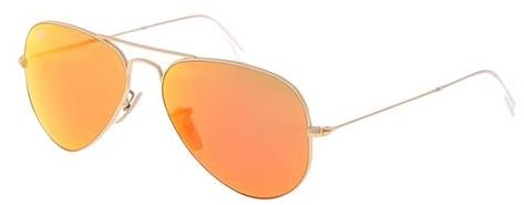 Ray Ban Aviator Flash Lenses Gold Unisex Sunglasses - RB3025-112-69 58 -14-135 616f3ce4648c