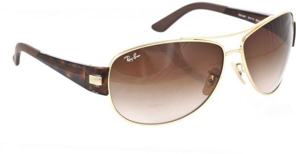 ray ban pilot sunglasses price  Ray-Ban Aviator Frame Unisex Sunglasses - RB3467-001/1363, price ...
