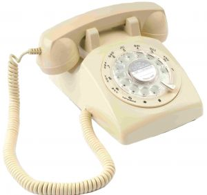 Retro 1970 Style Desktop Classic Telephone - Rotary Dialing, CTR-307