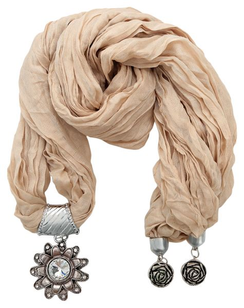 Buy unique fashion scarf pendant for women beige scarves wraps unique fashion scarf pendant for women beige aloadofball Choice Image