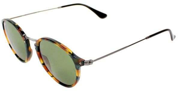 98d173b96bf Ray-Ban Round Unisex Sunglasses - RB2447-11594E 49