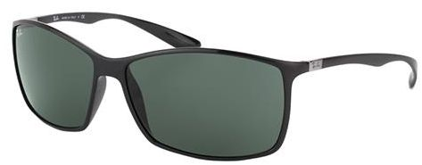 22a0ceb4a5 Ray-Ban Lite force Rectangle Sunglasses for Unisex - Full Rim Black ...