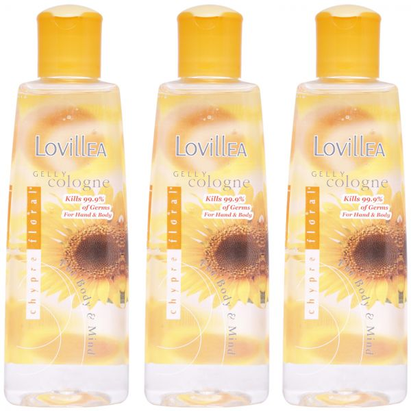 Gelly Cologne Chypre Floral By Lovillea For Women