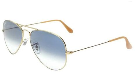 ray ban pilot sunglasses price  Ray-Ban Aviator Unisex Sunglasses - RB3025-001/3F55, price, review ...